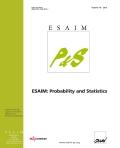 ESAIM: Probability and Statistics