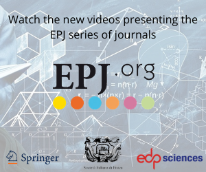Watch the new videos presenting the EPJ series of journals