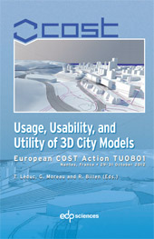 Usage, Usability, and Utility of 3D City models