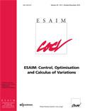 ESAIM: Control, Optimisation and Calculus of Variations